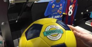 Transfer para marcar pelotas